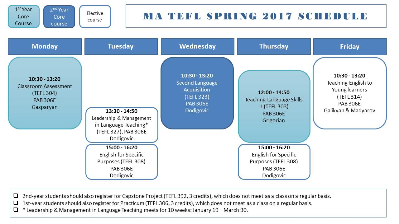 MATEFL schedule_ Spring 2017_for website